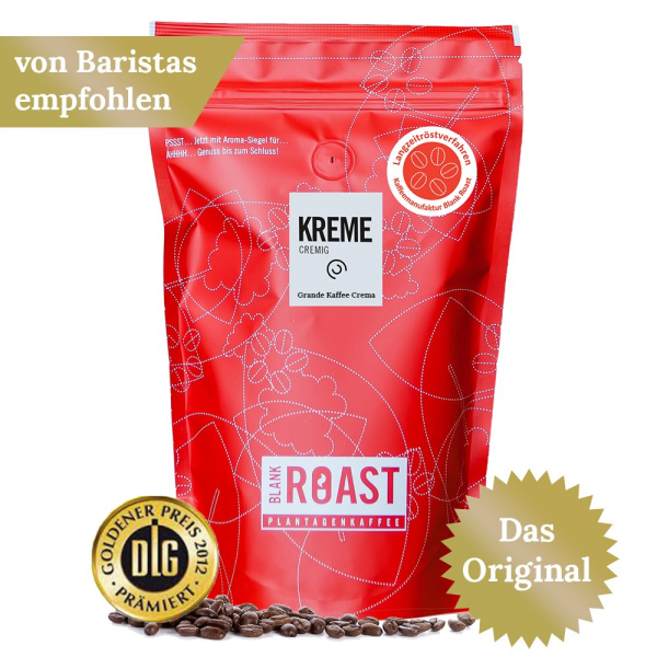 """Kreme"" Cafe Creme Arabica"