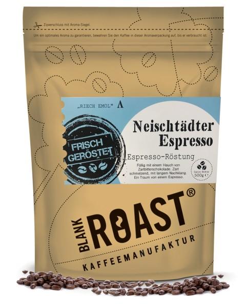 """""""Neischtädter Kaffee"""" Espresso Röstung Regional"""