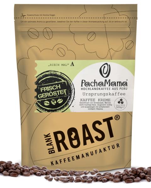 """PachaMama"" Kaffee Creme Bio-Kaffee"