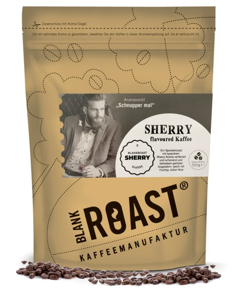 """""""Sherry"""" Fass Kaffee als flavoured Cafe Creme"""