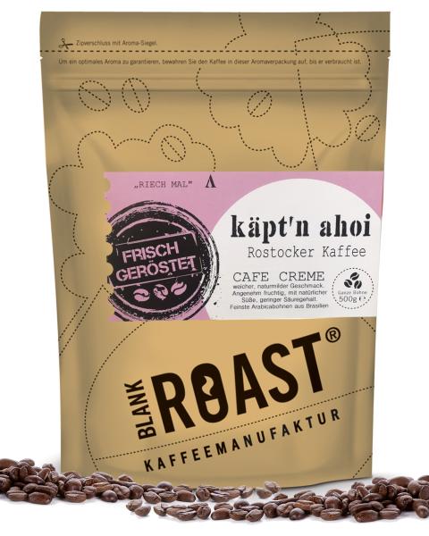 """""""Käpt'n Ahoi"""" Cafe Creme Rostocker Röstung"""