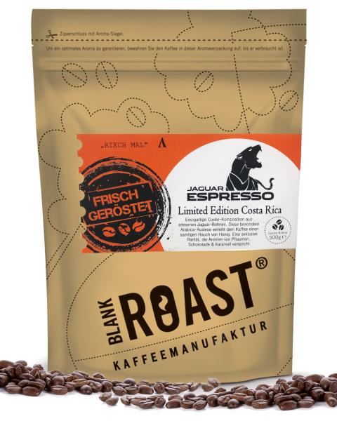 Blank Roast Jaguar Espresso