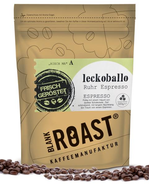 Regionalkaffee | Leckoballo | Espresso | Ruhr Röstung | Kaffee