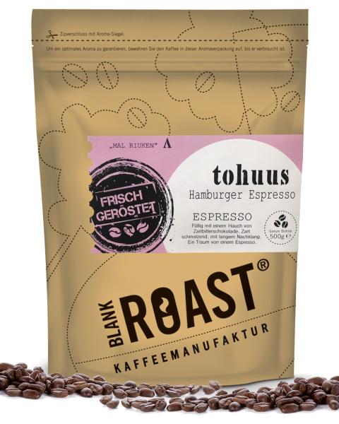 """""""Tohuus"""" Espresso Hamburger Röstung"""