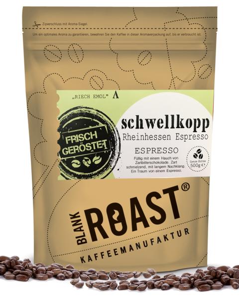 Regionalkaffee | Schwellkopp | Espresso | Rheinhessen Röstung | Kaffee