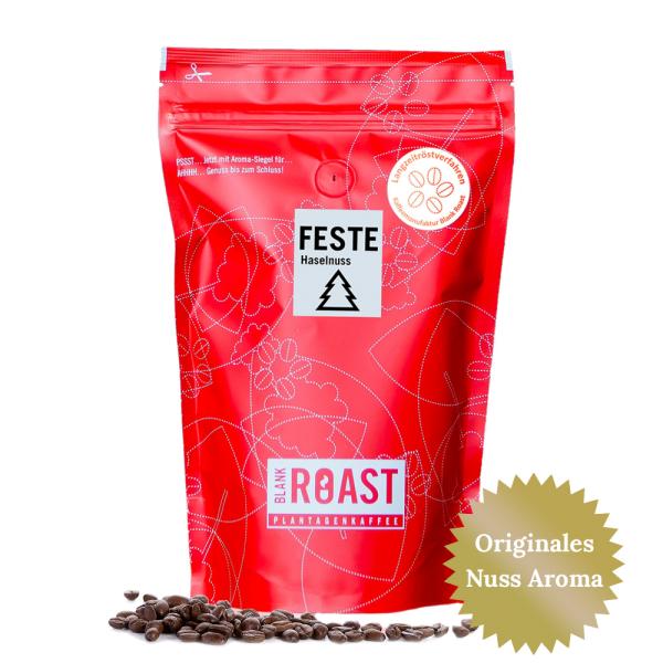 """""""Feste Haselnuss"""" Cafe Creme Arabica Weihnachts-Kaffee"""