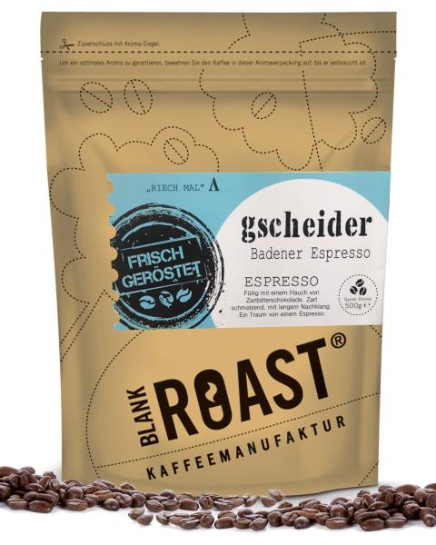 """""""Gscheider"""" Espresso Badener Röstung"""