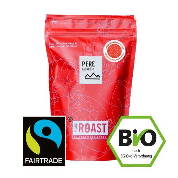 Blank Roast Manufakturkaffee Pere BIO