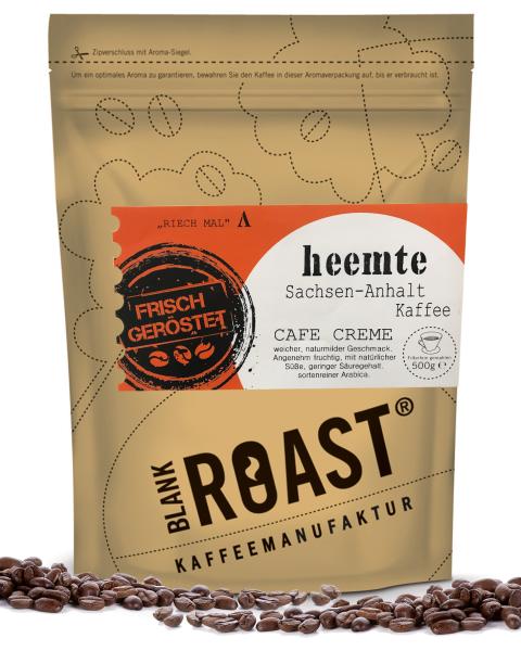 """""""Heemte"""" Cafe Creme Sachsen-Anhalt Röstung"""