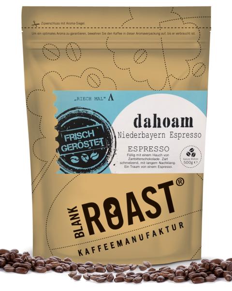 """Dahoam"" Espresso Niederbayern Röstung"