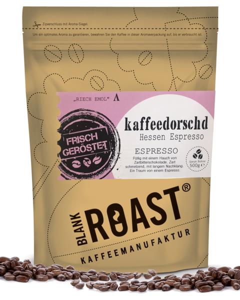 """""""Kaffeedorschd"""" Espresso Hessen Röstung"""