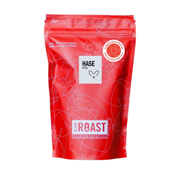 """Hase"" Cafe Creme Arabica Oster-Kaffee"